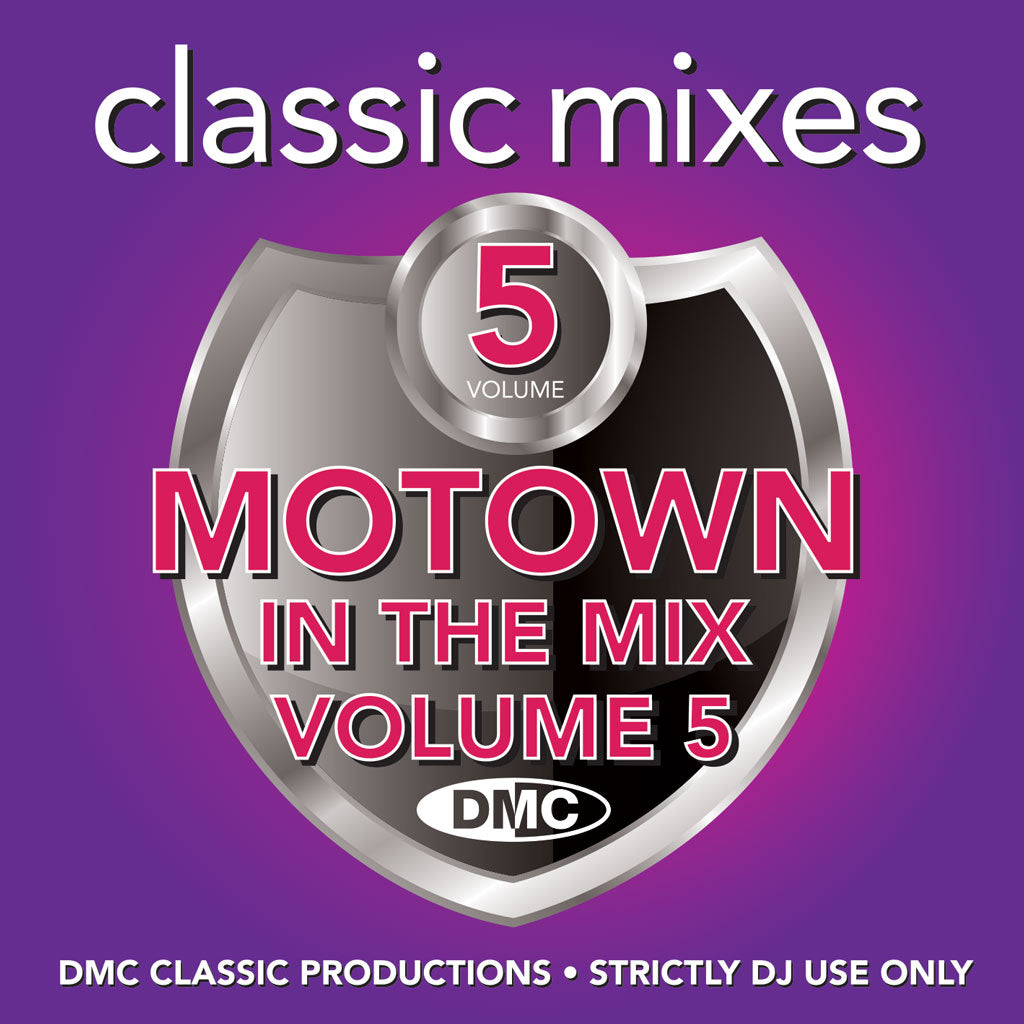 Check Out DMC Classic Mixes - MOTOWN IN THE MIX Vol. 5 - April 2021 release On The DMC Store