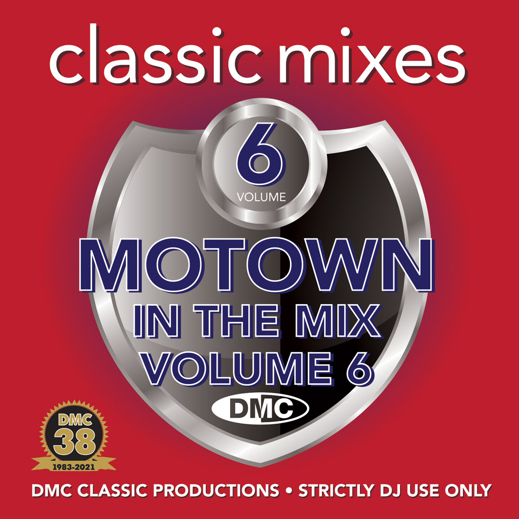 Check Out DMC CLASSIC MIXES MOTOWN IN THE MIX 6 - September 2021 release On The DMC Store