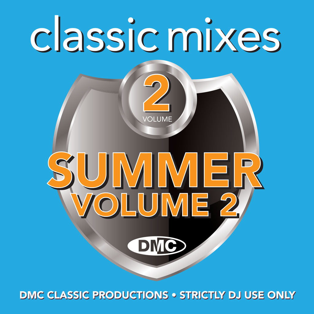 Check Out DMC CLASSIC MIXES– SUMMER VOL.2 - June 2021 release On The DMC Store