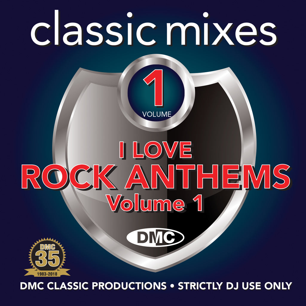 Classic Mixes – I Love Rock Anthems