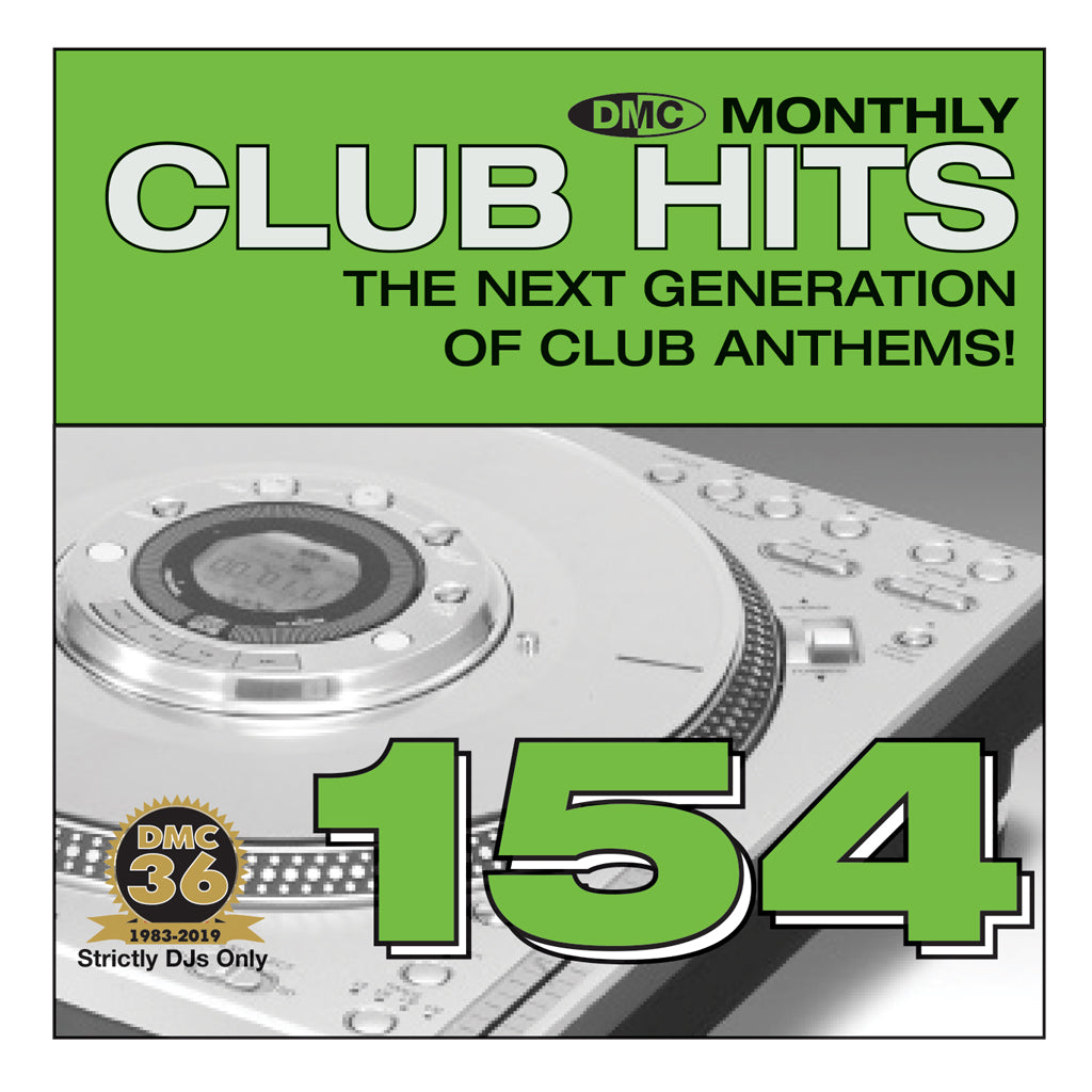 DMC CLUB HITS 154 - The next generation of club anthems - May 2019