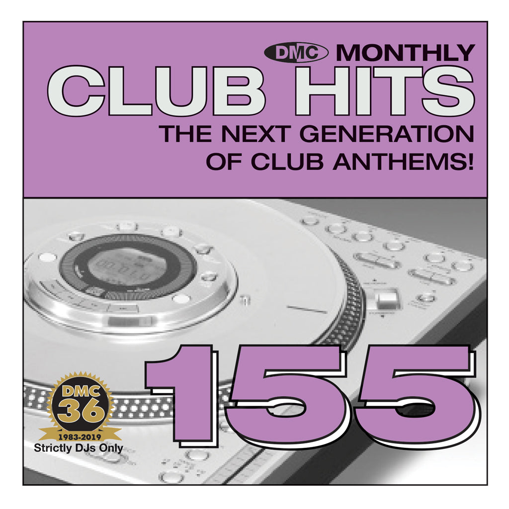 Check Out DMC CLUB HITS 155 - The next generation of club anthems - June 2019 Release On The DMC Store