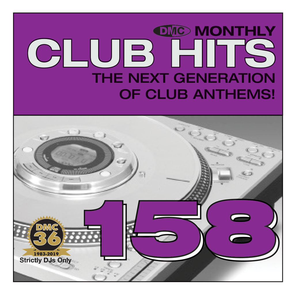 DMC CLUB HITS 158  The next generation of club anthems - September 2019