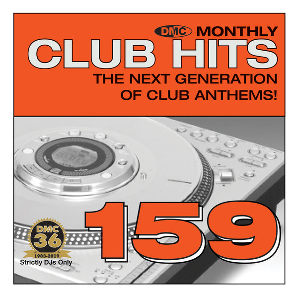 DMC CLUB HITS 159 - The next generation of club anthems - October 2019