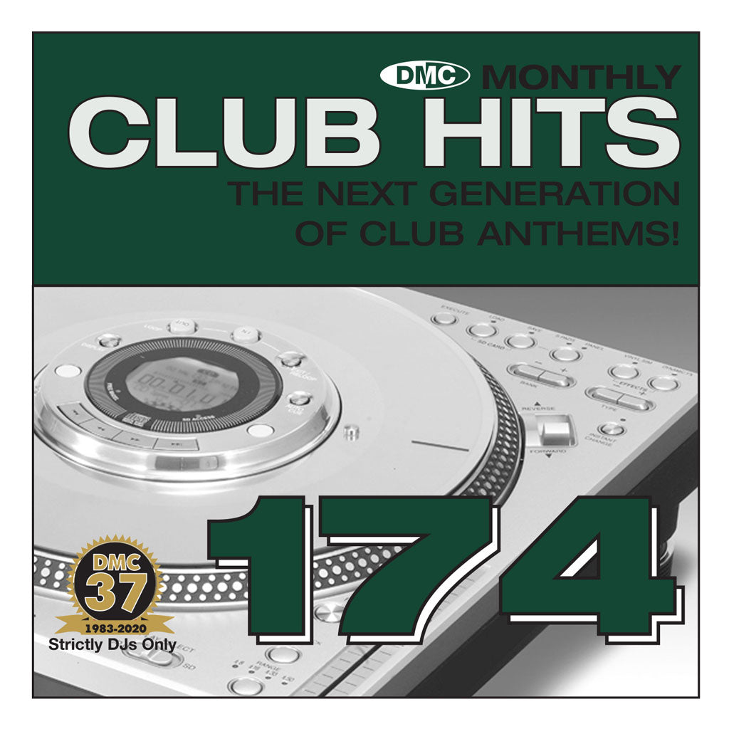 Check Out DMC ESSENTIAL CLUB HITS 174 - January 2021 release On The DMC Store