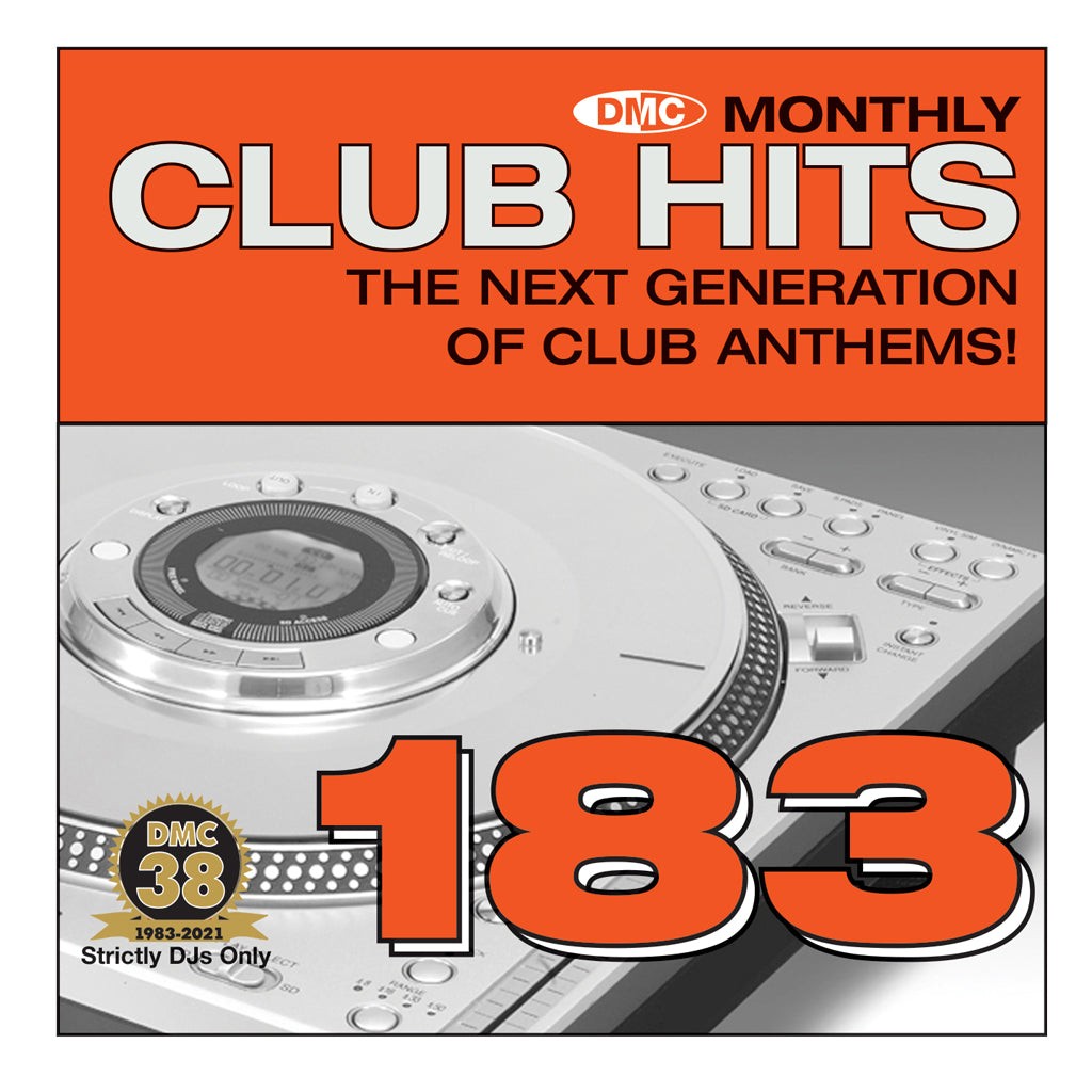 Check Out DMC CLUB HITS 183 - mid October 2021 release On The DMC Store