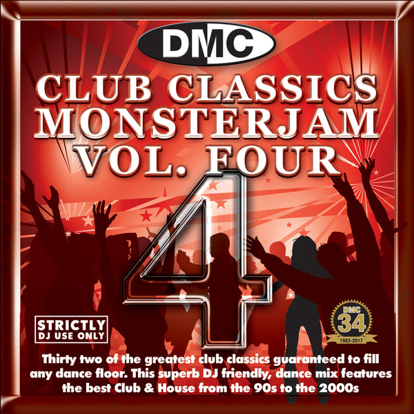 DMC Club Classics Monsterjam 4 - October 2017 release