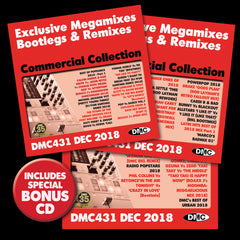 DMC COMMERCIAL COLLECTION 431 - December 2018 release