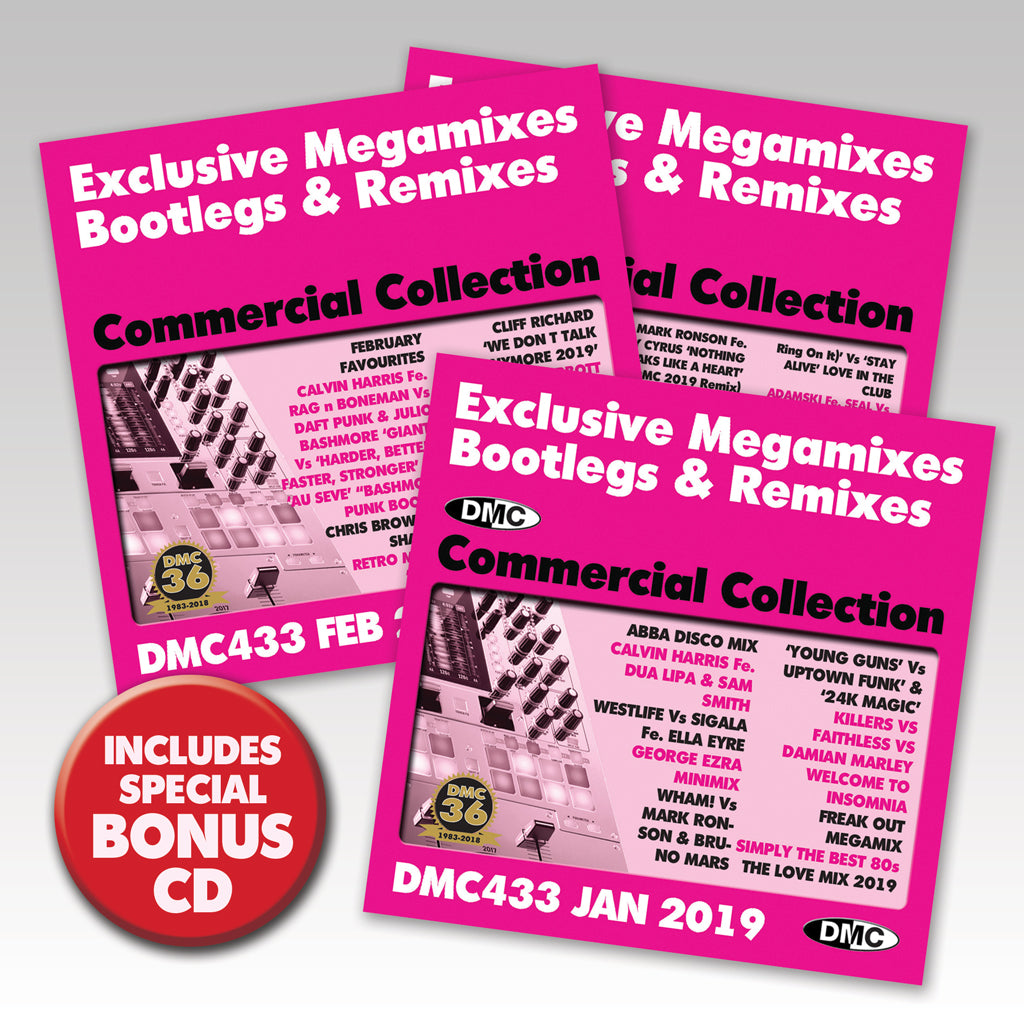 Check Out DMC Commercial Collection 433 - triple edition - February 2019 release On The DMC Store