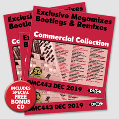 DMC COMMERCIAL COLLECTION 443 - TRIPLE PACK EDITION - December 2019