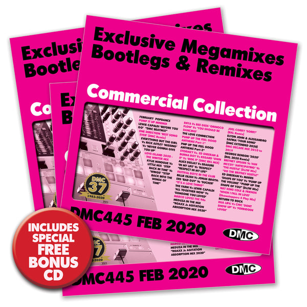 DMC COMMERCIAL COLLECTION 445 - Triple CD Edition - FEBRUARY 2020 release
