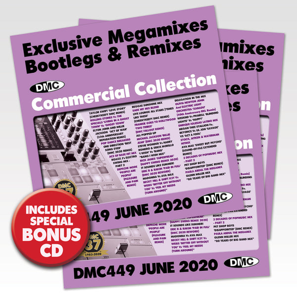 DMC Commercial Collection 449 - 3xCD edition - June 2020 release