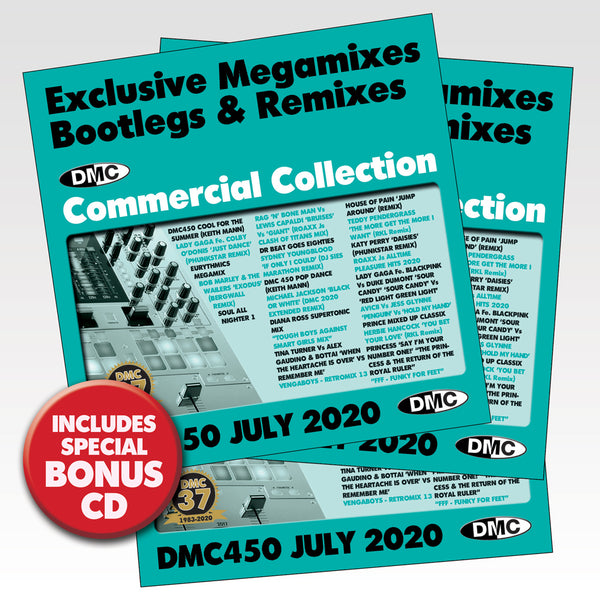 DMC COMMERCIAL COLLECTION 450 - 3 x CD - July 2020 release