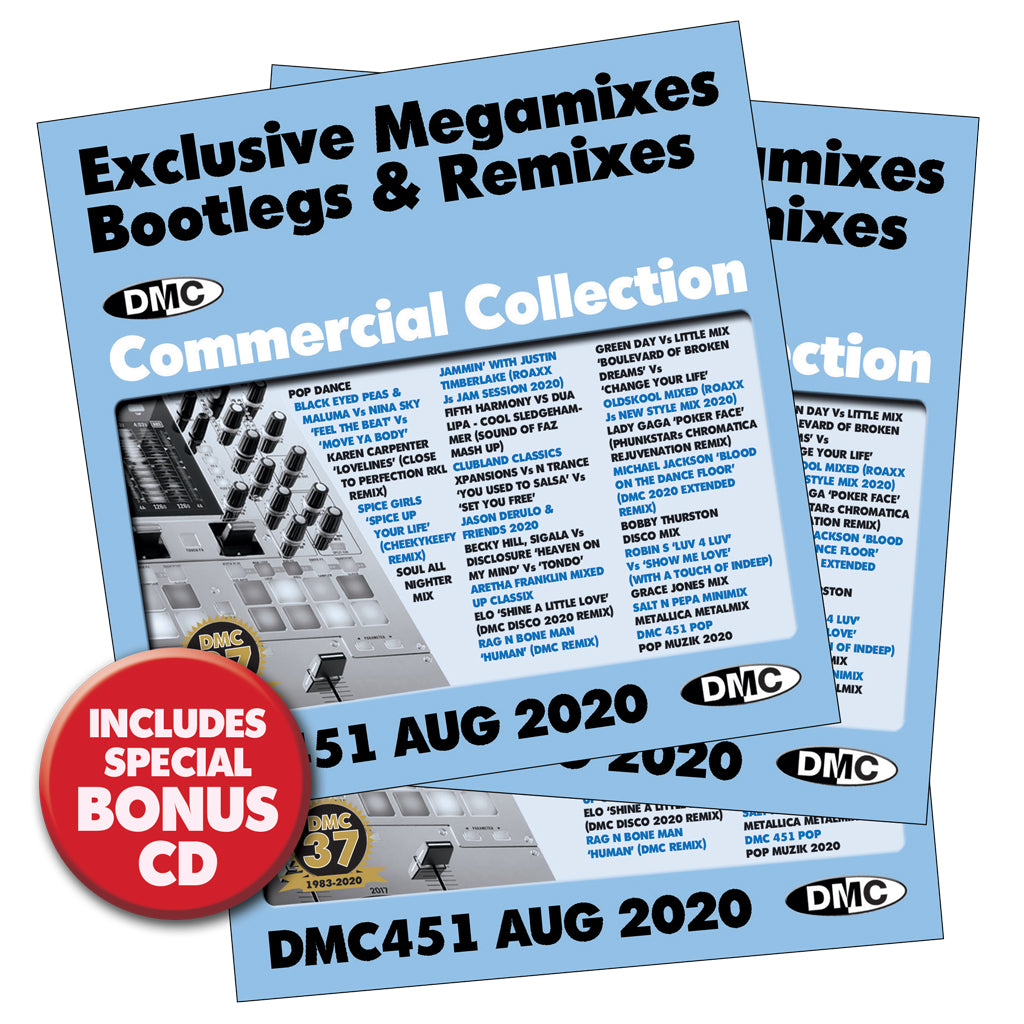 DMC Commercial Collection 451 - August 2020 release