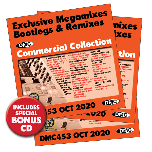 DMC Commercial Collection 453 -  3 CD Issue - October 2020 release