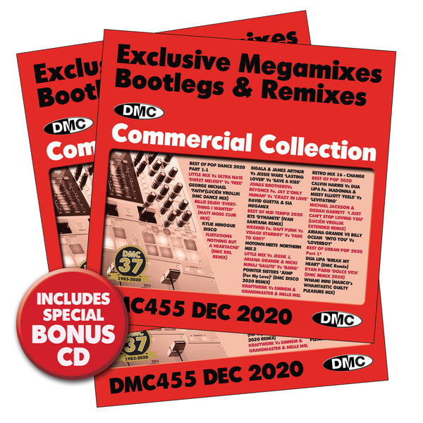 DMC Commercial Collection 455 - out now - December 2020 release - 3 x CD Set