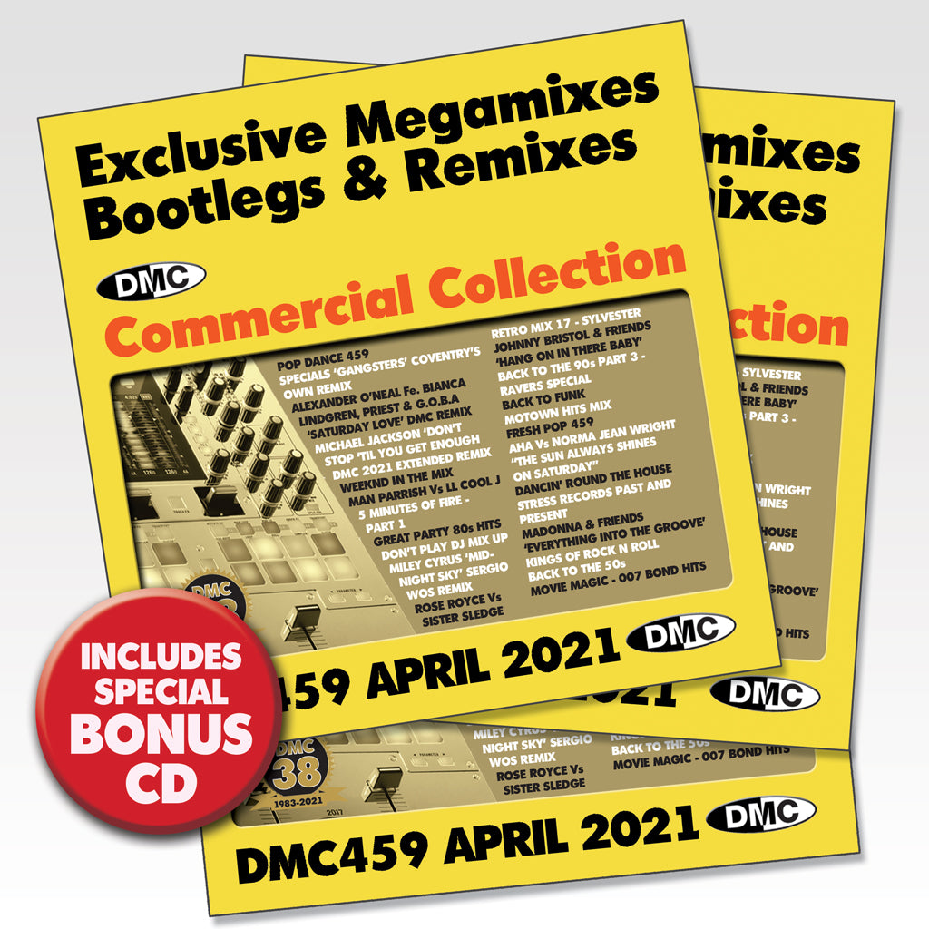 Check Out DMC Commercial Collection 459 - 3 x CD - April 2021 new release On The DMC Store