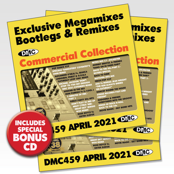DMC Commercial Collection 459 - 3 x CD - April 2021 new release