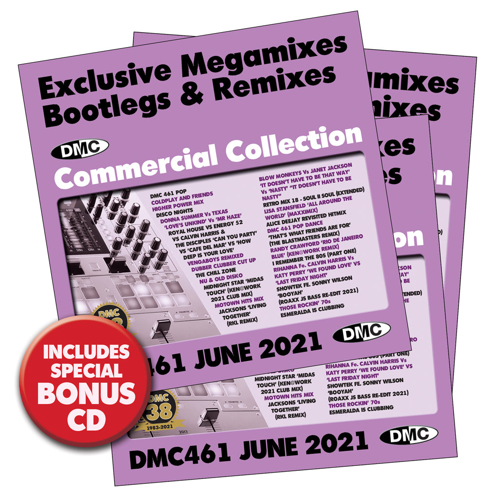 Check Out DMC Commercial Collection 461 - 3 x CD issue! - June 2021 On The DMC Store