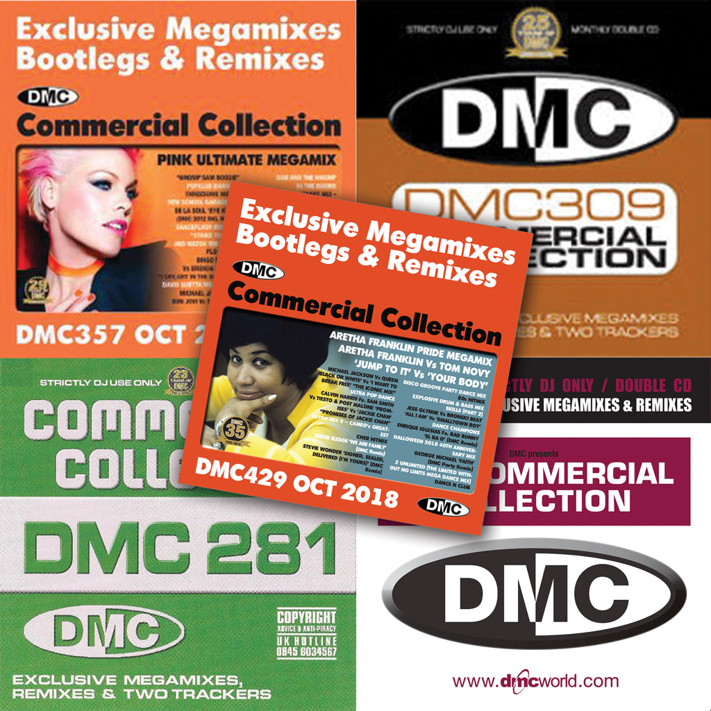 DMC Commercial Collection Offer 67 - Five double CDs - October 2019 release