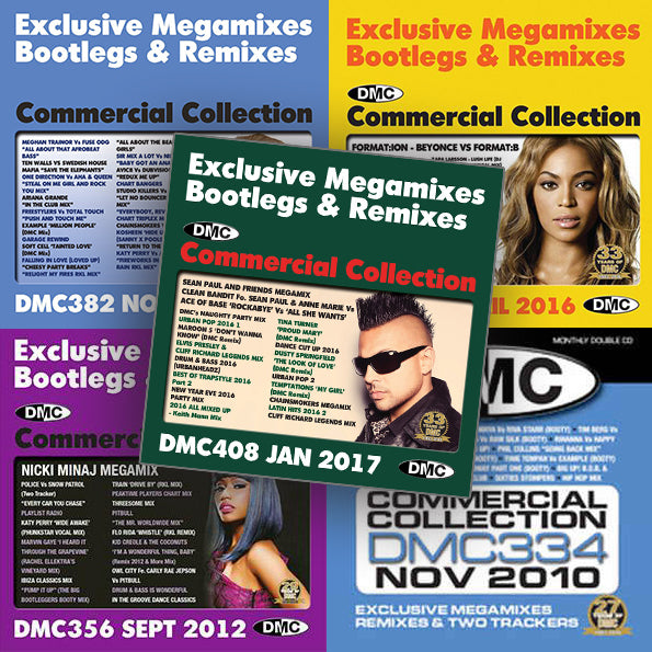 DMC Commercial Collection Offer 65 - Commercial Collection 408, 399, 382, 356 and 334