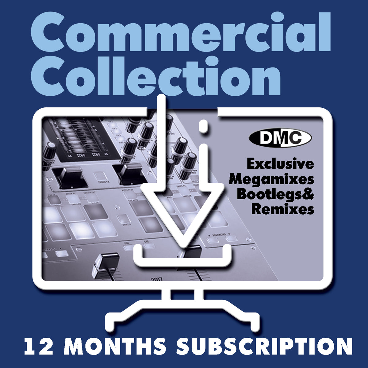 DOWNLOAD ONLY - DMC COMMERCIAL COLLECTION - 12 MONTH'S SUBSCRIPTION