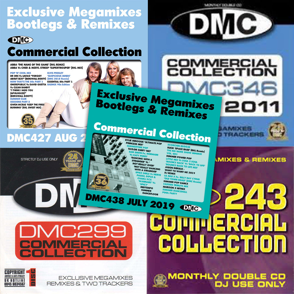 Commercial Collection Offer 68 - 5  double CDs - October 2020 release