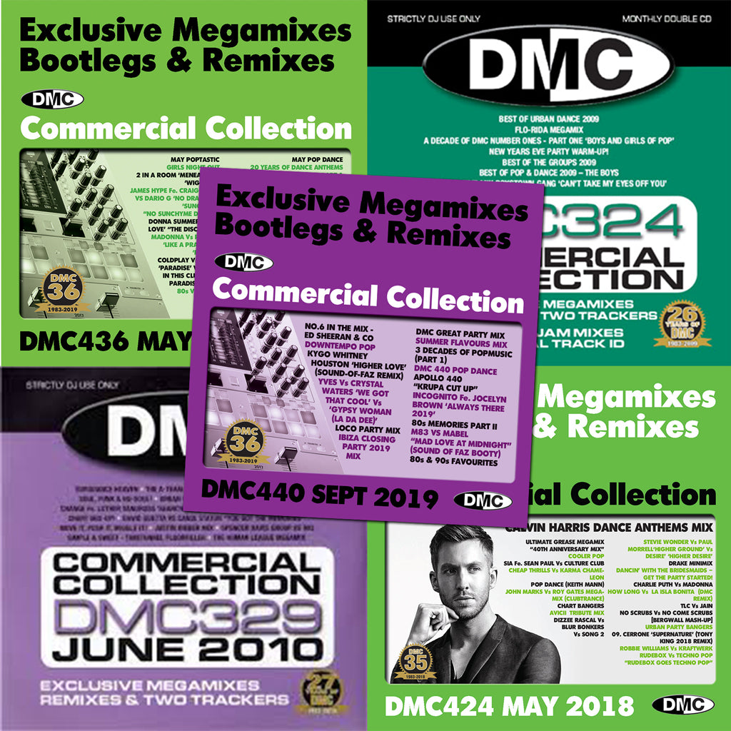 DMC Commercial Collection Offer 69 - 5 Double CDs - October 2020 release