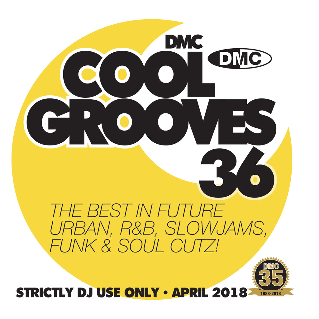 COOL GROOVES 36 - April 2018