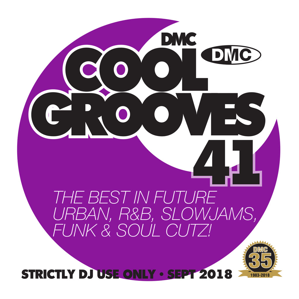 DMC COOL GROOVES 41 - mid September releases
