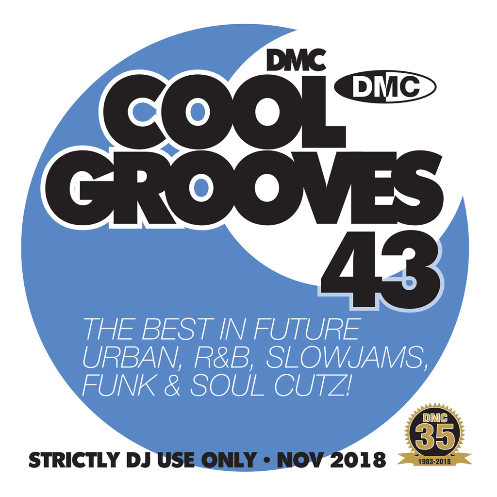 Check Out DMC COOL GROOVES 43 - Mid month November 2018 release On The DMC Store