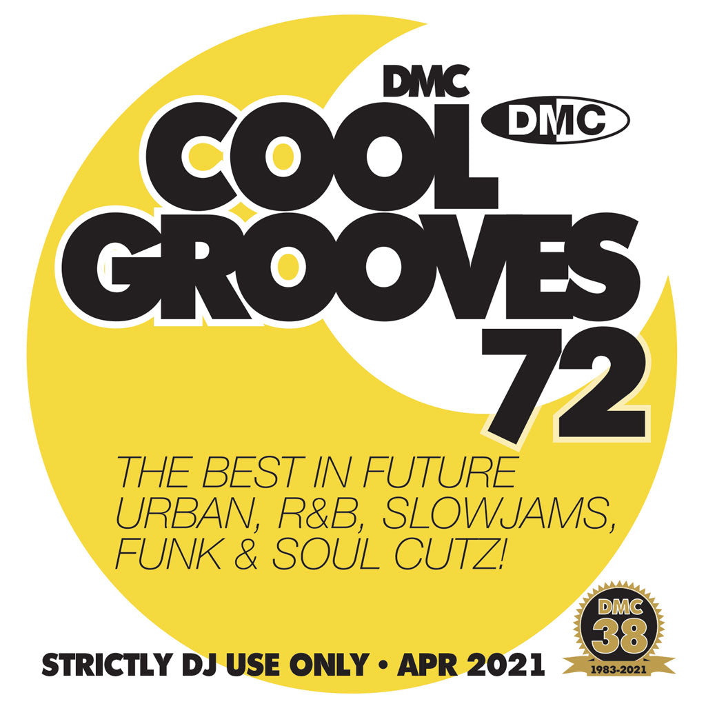 Check Out DMC COOL GROOVES 72 - mid April release 2021 On The DMC Store
