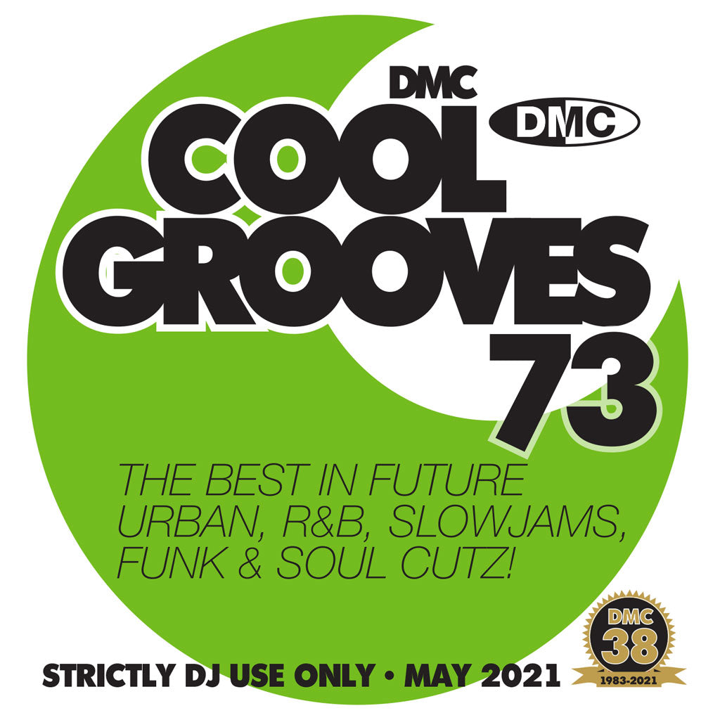 Check Out DMC COOL GROOVES 73 - May 2021 release On The DMC Store