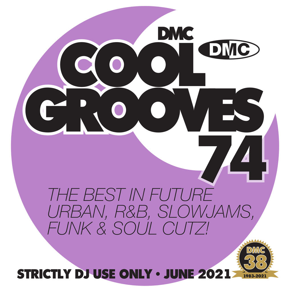 Check Out DMC COOL GROOVES 74 - June 2021 release On The DMC Store