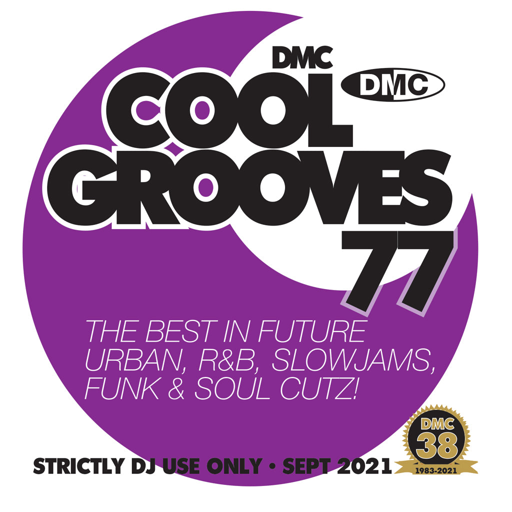 Check Out DMC COOL GROOVES 77 - September 2021 release On The DMC Store