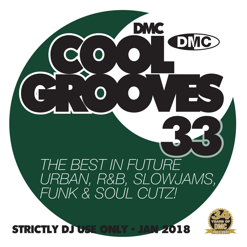 DMC COOL GROOVES 33 - MID JANUARY 2018 RELEASE