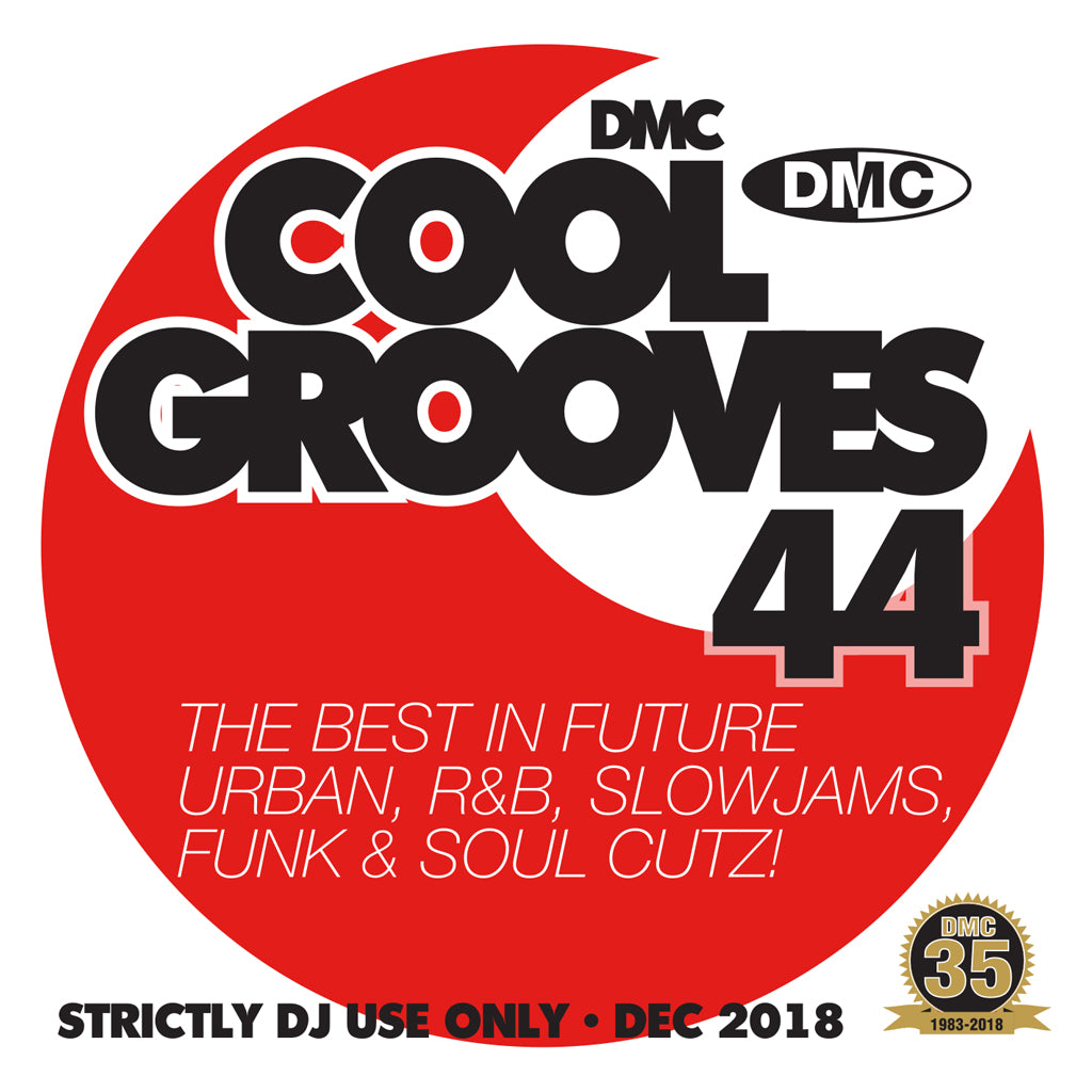 Check Out DMC Cool Grooves 44 - Mid December 2018 release On The DMC Store