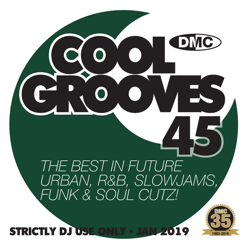 Check Out DMC Cool Grooves 45 - mid January 2019 release On The DMC Store