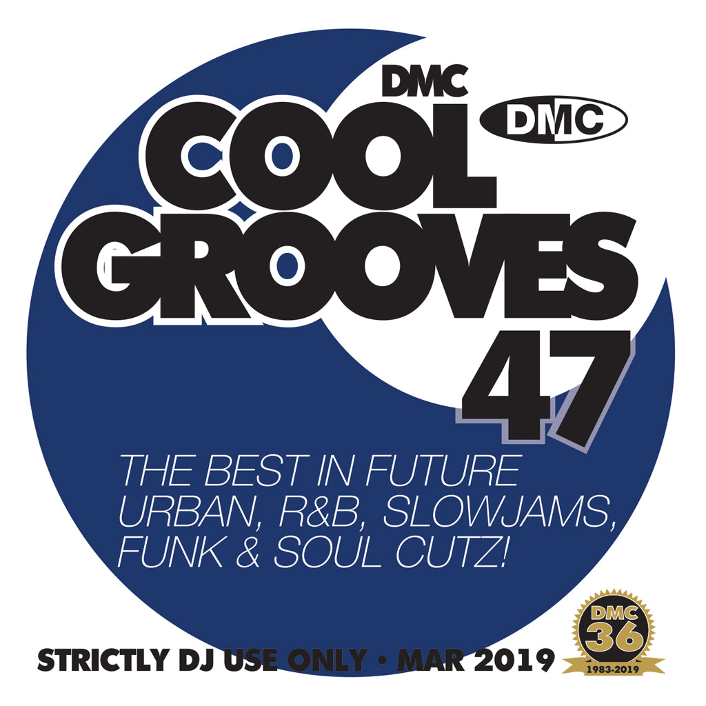 Check Out DMC COOL GROOVES 47  - March 2019 release On The DMC Store