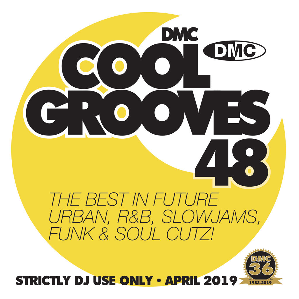 DMC COOL GROOVES 48  - The best of cooler hits in all genres - April 2019 release