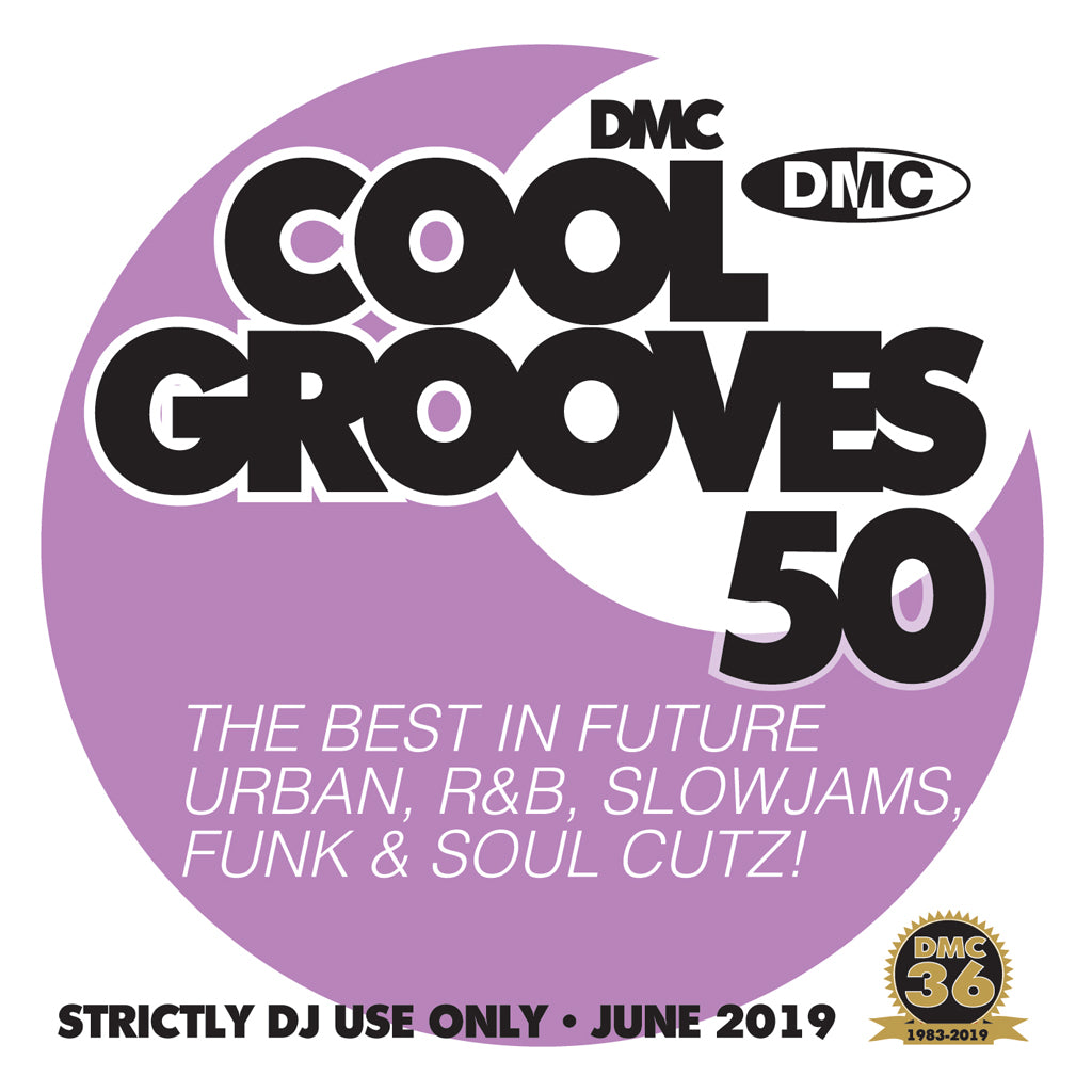 Check Out COOL GROOVES 50 - THE BEST IN COOLER HITS - June 2019 release On The DMC Store