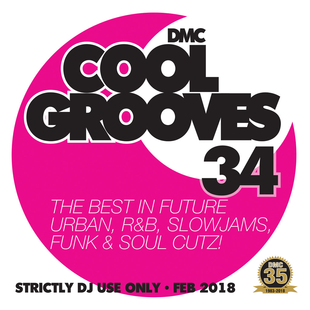 COOL GROOVES 34 - Mid-February 2018 release