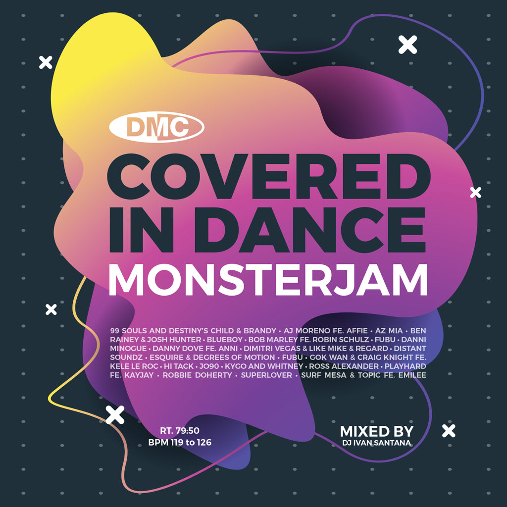 Check Out DMC Covered In Dance Vol. 1 Monsterjam -Continuous Mix -  December 2020 release - New Release On The DMC Store