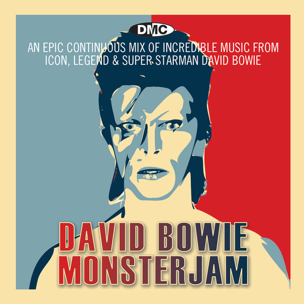 DMC David Bowie Monsterjam - November 2017 release