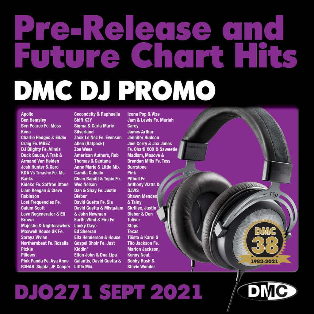 Check Out DMC DJ PROMO 271 - September 2021 release On The DMC Store