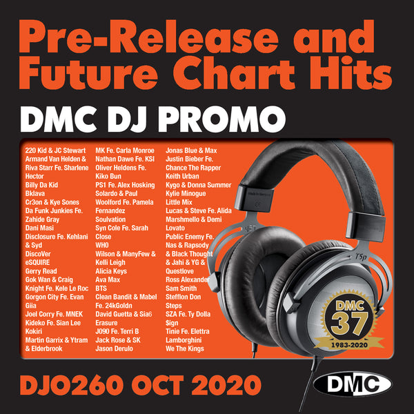 DMC DJ PROMO 260 - 2 CD - October 2020 release