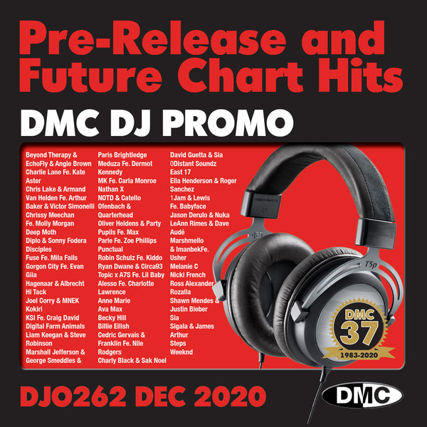 DMC DJ PROMO 262 - 2 x CD - December 2020 release - out now