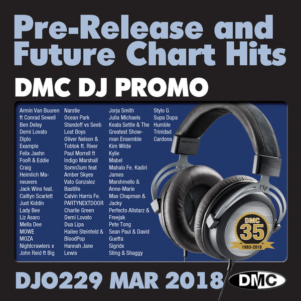 DMC DJ PROMO 229 - March 2018