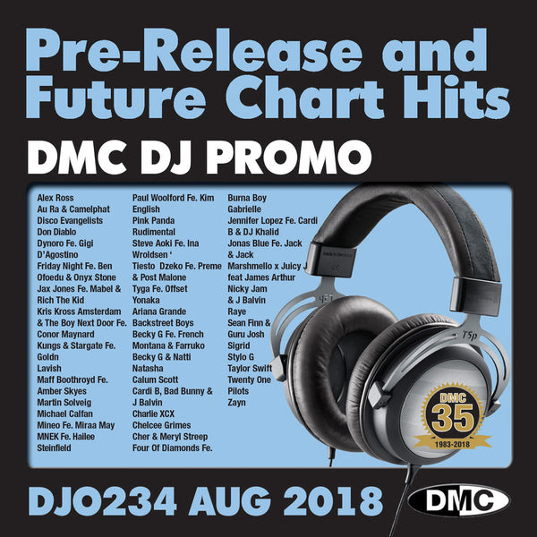 DJ PROMO  234  - August 2018 - PRE-RELEASE AND FUTURE CHART HITS