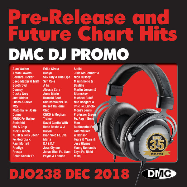 DJ PROMO 238 - December 2018 release - PRE RELEASE AND FUTURE CHART HITS!